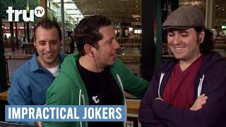 Impractical Jokers - Murr Spoons a Stranger | truTV