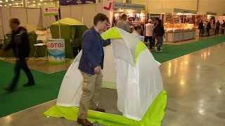 Палатка ЛОТОС 1 на выставке Крокус экспо.