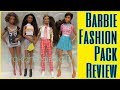 FLY DOLLS : Barbie Fashion School Pack & Barbie Fashions Graphic Design Pack Fashion Packs Review
