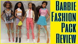 Fly Dolls Barbie Fashion School Pack Barbie Fashions Graphic Design Pack Fashion Packs Review Youtube