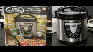 Power Pressure Cooker XL - 8-Quart