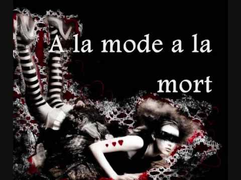 ANGELSPIT - A la Mode A la Mort (LYRICS)