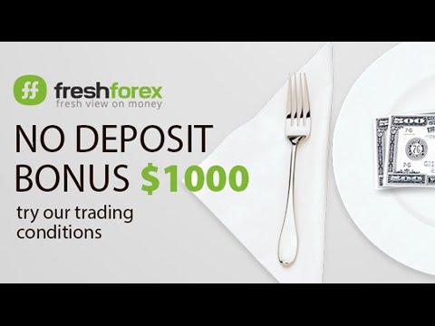 Video Instruction: How To Get $1000 Bonus For Registration. FreshForex