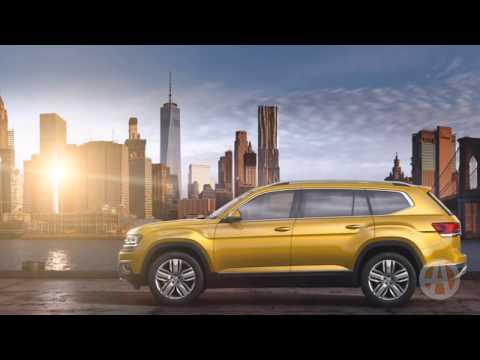 2018 Volkswagen Atlas: First Look - Video