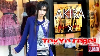 AKIRA introduces the Tokyo Rebel store!