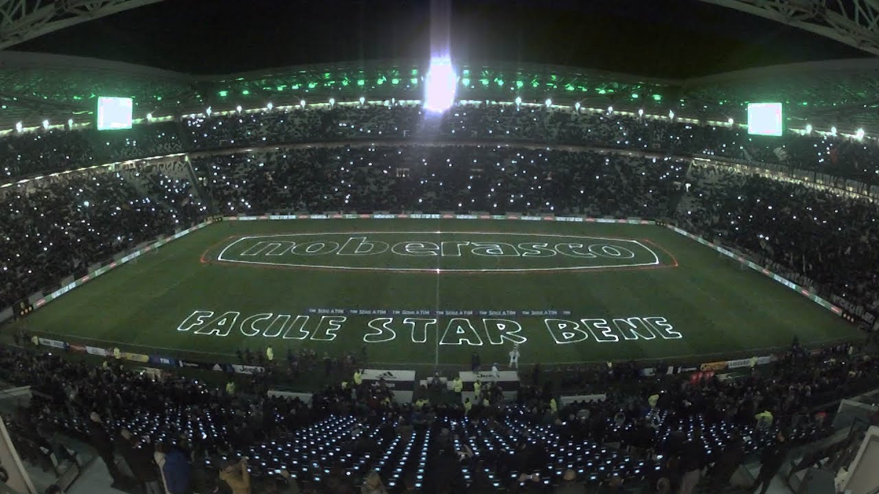 Laser Light Show At Allianz Stadium With Noberasco!