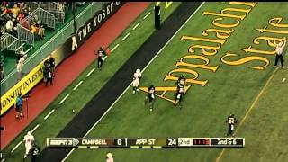 9/6/2014: Appalachian State vs. Campbell Highlights