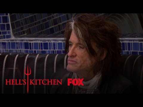 Estelle And Joe Perry Arrive For Dinner | Season 16 Ep. 5 | HELL'S KITCHEN