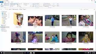 Folders View Customization Options in Microsoft Windows 10 Tutorial