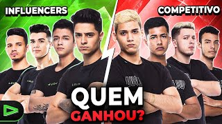 DIA ÉPICO ! PRO VS INFLUENCIADORES DA LOUD NO X1