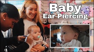 Getting my baby's ears pierced // TEEN MOM 7 MONTH BABY UPDATE