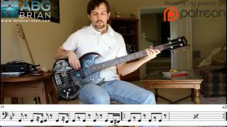 Townes Van Zandt - Who Do You Love? - Bass Transcription