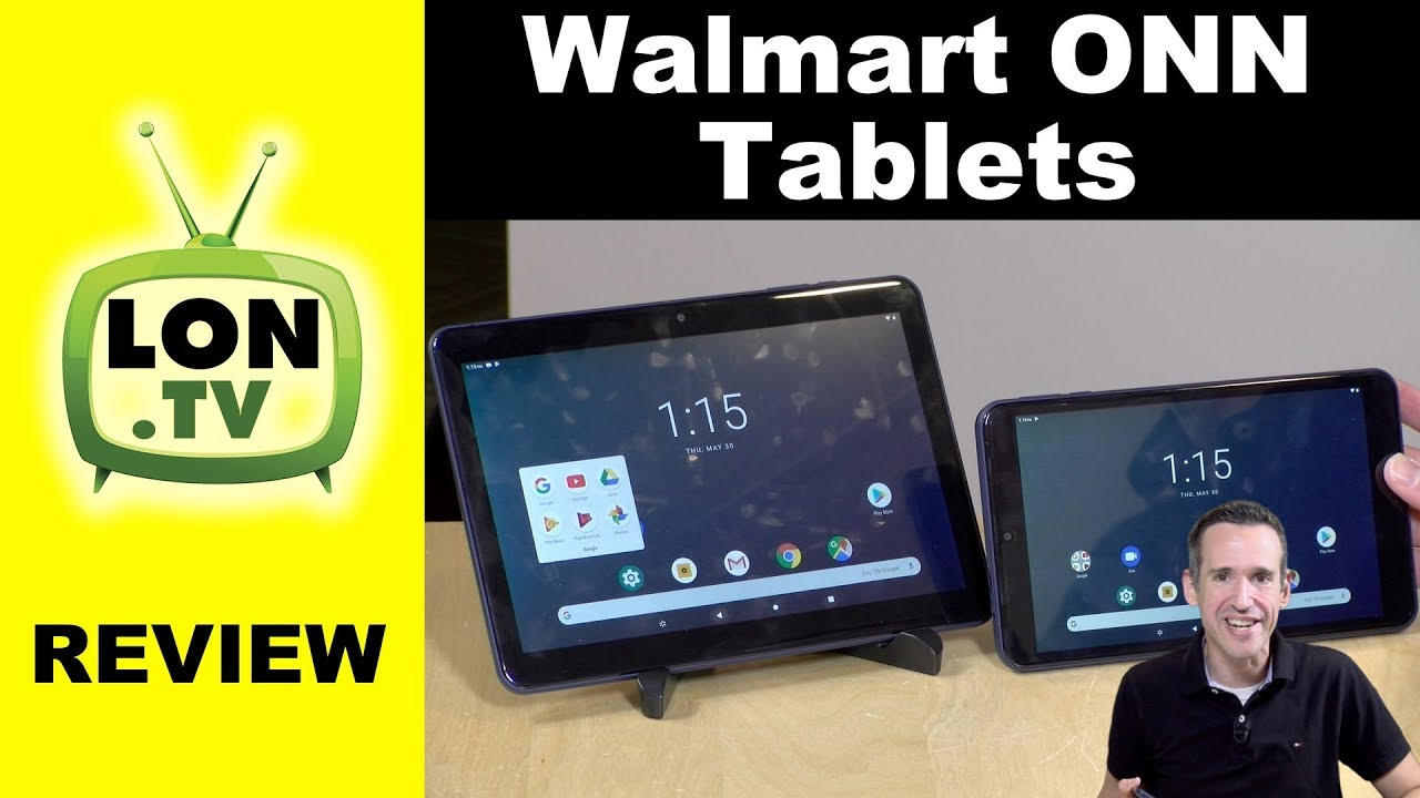 Walmart Onn Android Tablets Review: 8