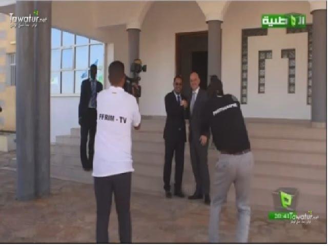 كواليس تغطية الصحافة المحلية لزيارة رئيس الفيفا .. ما خفي كان أعظم - تقرير قناة الوطنية
