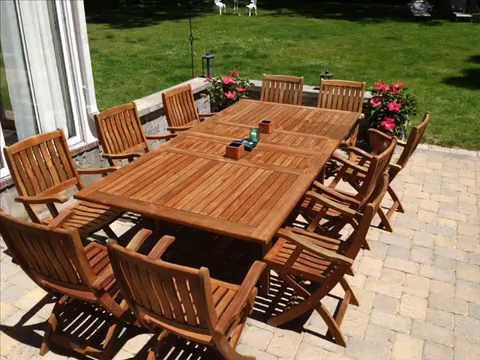 Garden Furniture Jakarta teak outdoor furniture i teak outdoor furniture pottery barn - youtube