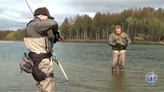 Рыбалка на реке Яма Магадан часть вторая