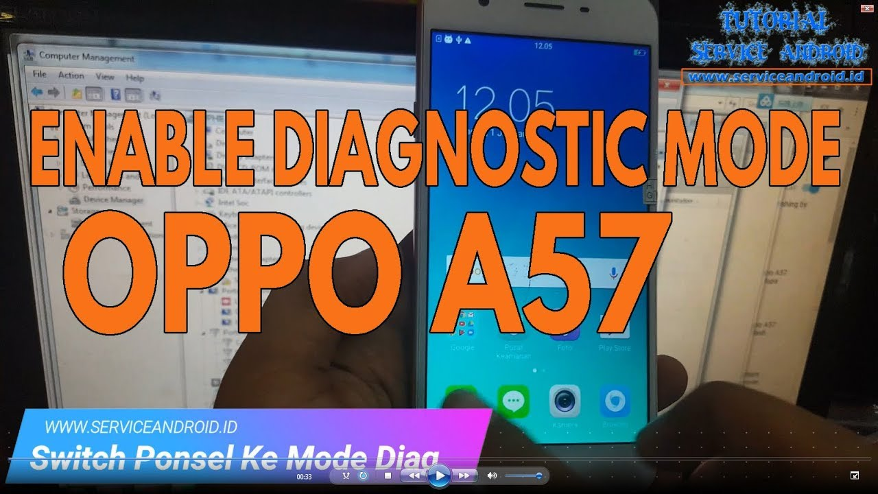 How To Enable Diagnostic Mode on OPPO A57