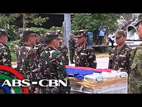 Labi ng sundalong namatay sa Marawi, naiuwi na sa Sarangani