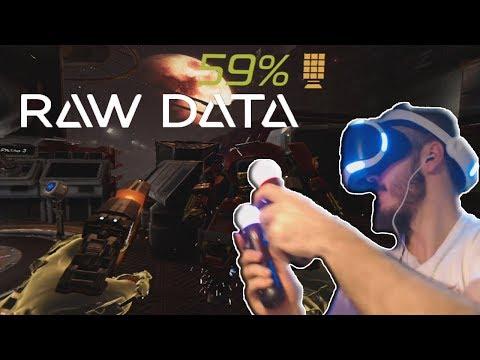 PlayStation VR Demo   RAW DATA   ¡ROBOTS!