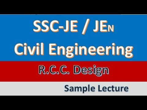 GATE-2018 Civil Engineering - RCC Lecture Sample (GATE, IES