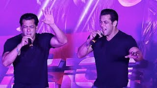 Salman Khan Live Singing Performance On I FOUND LOVE Song From Race 3