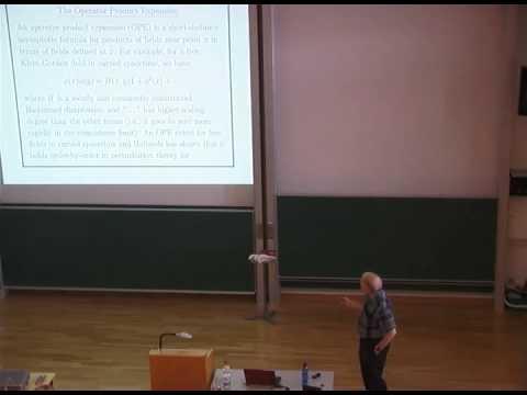 Algebraic Quantum Field Theory | Talk by Robert M. Wald