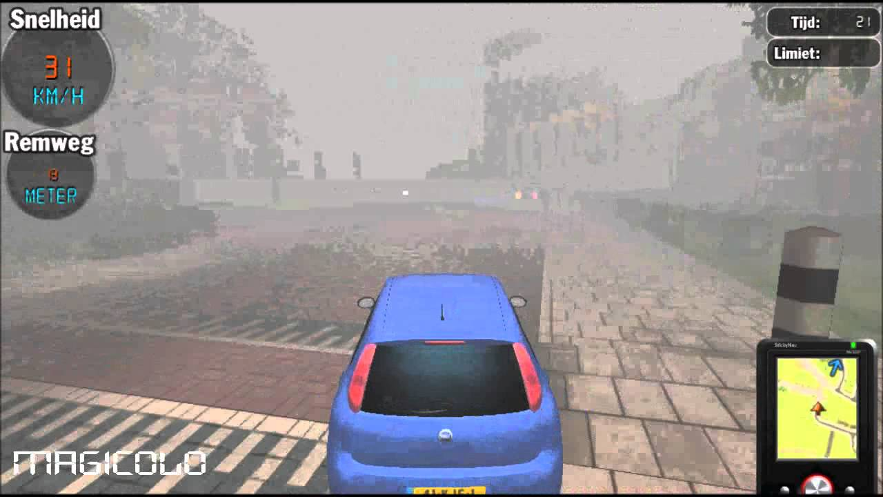 Traffic talent simulatore di guida 3d commentary ita for Programmi 3d free