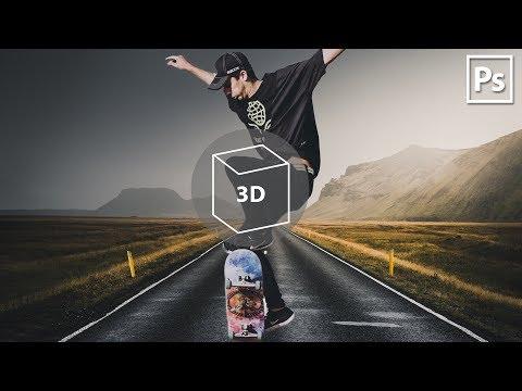 СОЗДАЕМ FACEBOOK 3D PHOTO В ADOBE PHOTOSHOP 😱