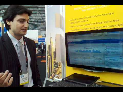 Oracle Utilities demonstrates their Meter Data Management system with an Echelon smart meter