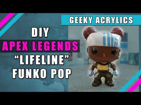 "Apex Legends Custom Funko ""DIY Lifeline """