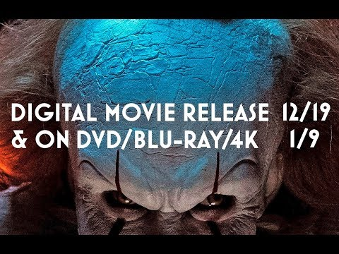 IT is coming to Digital Download/DVD/Blu-Ray & 4K