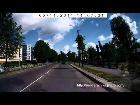Бобруйск. Улица Урицкого, с заездом на Береговую. באָברויסק. גאַס וריקקאָגאָ.