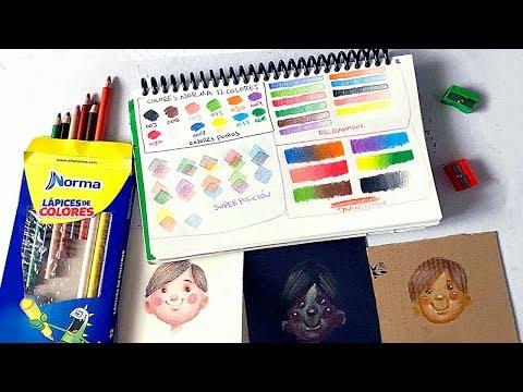 Reseña Review de los Lápices de Colores Norma 🖍🖍🖍