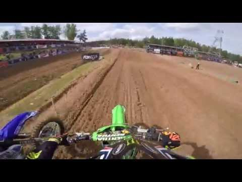 GoPro: Max Anstie 2015 FIM Motocross World MX2 Championship of Latvia