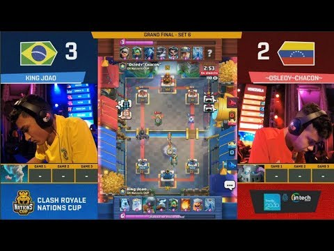 [GRAND FINAL] BRASIL VS VENEZUELA | CLASH ROYALE NATIONS CUP 2018