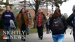 New York Is First U.S. State To Offer Free 4-Year College Tuition | NBC Nightly News
