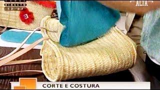 Forrar cestas de palha – Costura com Riera Alta
