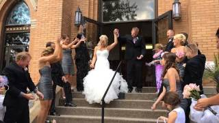 Wedding Exit in Slow motion
