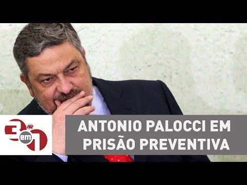 Por 7 a 4, STF mantém ex-ministro Antonio Palocci em prisão preventiva