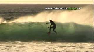 Surf LaSantaPRo free surf at La Santa-El Quemao