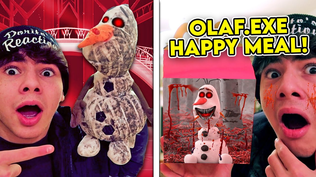 DO NOT ORDER THE OLAF.EXE HAPPY MEAL AT 3 AM!! *EVIL OLAF TOY INSIDE*