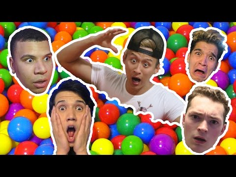LOST MY PUPPY IN THE BALL PIT!!