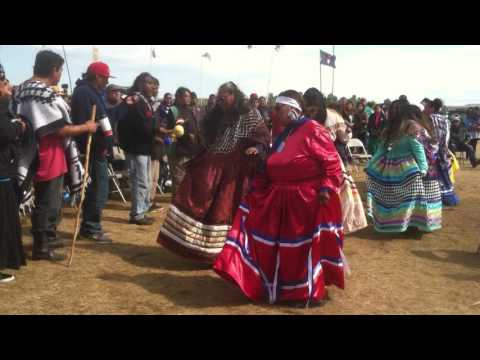 Tribes from Colrado dance in support of Standing Rock