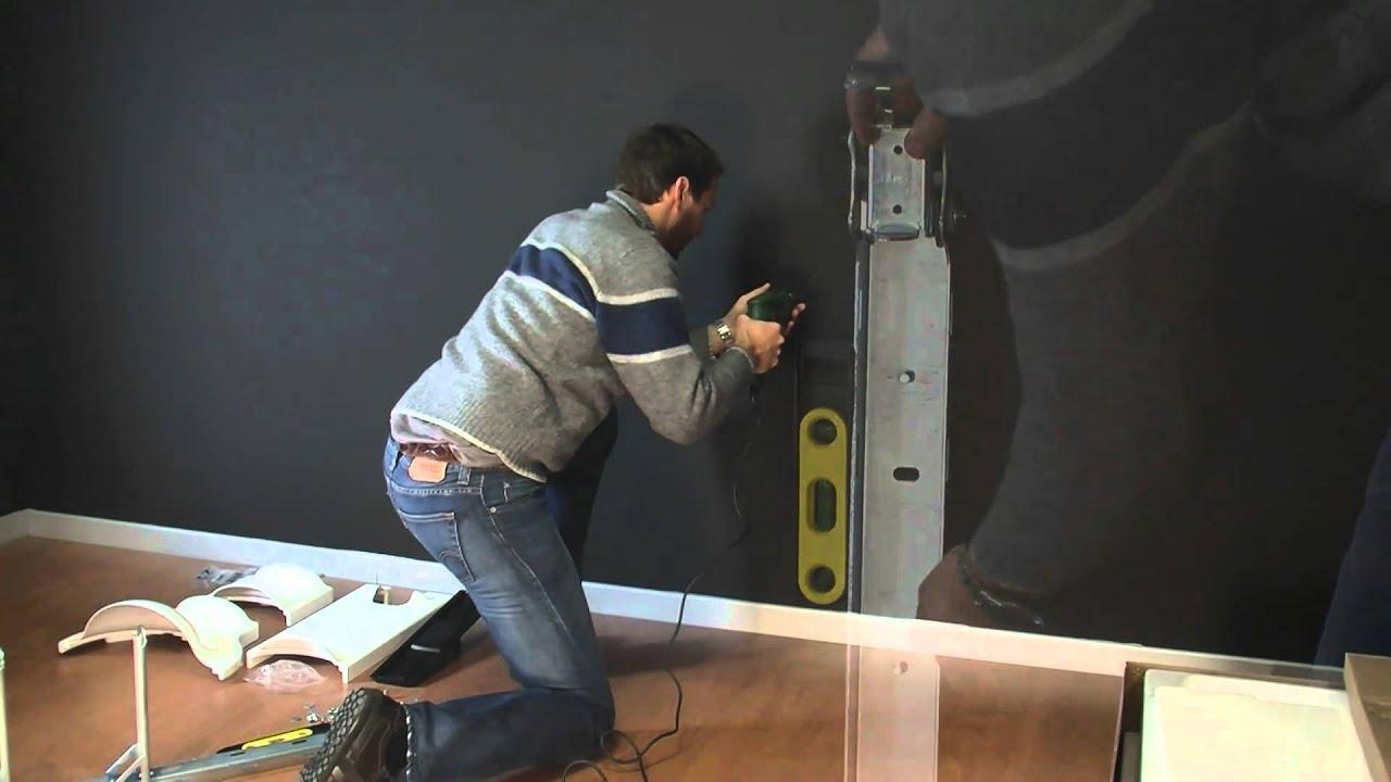 Meliconi Porta Tv Ghost Design 2000.G Bl Video Di Montaggio Supporto Tv Mod Octopus Youtube