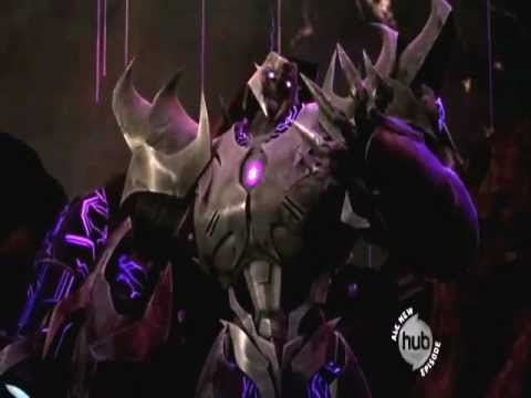 Transformers prime g1 style optimus prime vs megatron youtube - Transformers prime megatron ...