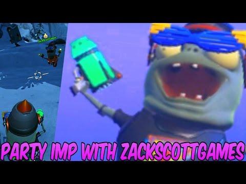 PvZ Garden Warfare 2: PARTY IMP 45+ VANQUISHES with ZACKSCOTTGAMES! - Gameplay