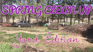Spring Clean Up | Spring Clean 2018 | Yard Edition | EXTREME CLEANING MOTIVATION