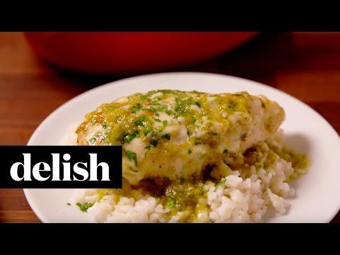 Baked Salsa Verde Chicken   Delish