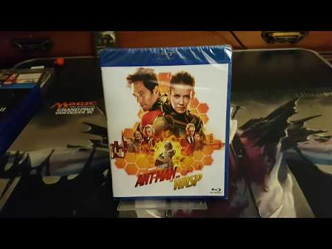 Unboxing: Ant-Man And The Wasp Blu-Ray