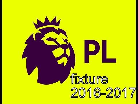 Barclays premier league fixture 2016-2017